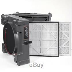 1/4HP Commercial Industrial HEPA Negative Air Machine Scrubber Purifier 2-Stage