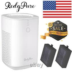 2020 Best Silent Air Purifier True HEPA Filter Cleaner for Home Smoke Allergies