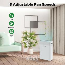 2021 Large Room Air Purifiers Medical Grade H13 HEPA 900Sq. Ft Quiet Air Cleaner