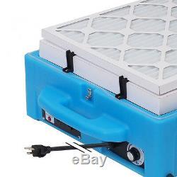 3-IN-1 Contair SB-500 HEPA Air Scrubber + Negative Air Machine + Ionizer Blue