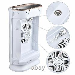 35W 4 in 1 Air Purifier with HEPA Filter UV-C Sanitizer for Pollen Odor Dust