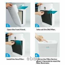 5-Filtration Stage Air Purifier True HEPA Allergen Remover Cleaner/Odor Reducer