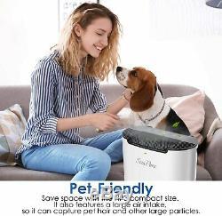 5stage Air Purifier HEPA Filter Odor Allergies Cleaner Eliminator Large Room