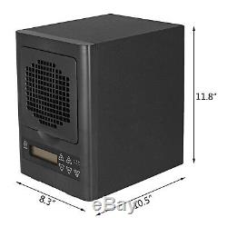 6 Stage Ozone Generator HEPA Air Purifier 600mg/h Ionic Purifier Carbon Filter