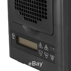 6 Stage UV HEPA Ozone Generator Air Purifier with Remote Dust Odor Smoke Remover