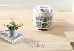 Air Cleaner Purifier Large Space Big Room Improvement White Honeywell True HEPA