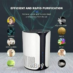 Air Purifier 4-Stage Filtration Home Medical Grade H13 True HEPA Filter Office