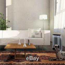 Air Purifier Clean Carbon HEPA Filter Dirt Dust Pollen Pet Dander Smoke Bedroom