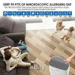 Air Purifier Large Room Up to 355 ft², True HEPA Filter+Mini Air Cleaner for Car