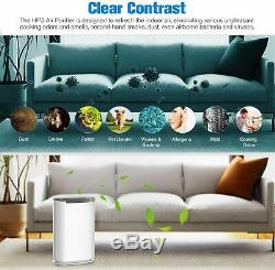 Air Purifier Large Room Up to 738 ft², True H13 HEPA Filter Air Cleaner for Home