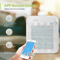 Air Purifier True HEPA Filter Air Cleaner Odor Allergies Eliminator 4 Large Room