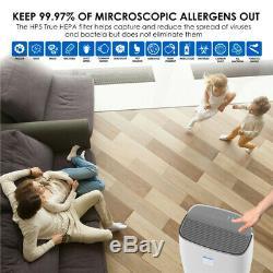 Air Purifier True HEPA Filter Filtration System Cleaner Odor Home Eliminator