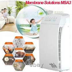 Air Purifier for Allergies Pet Odor Eliminator Air Cleaner 2PcsTure Hepa Filter