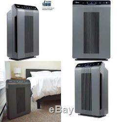Air Purifier with True HEPA PlasmaWave and Odor Reducing Carbon Filter Home