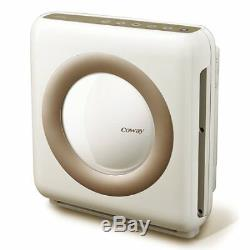 Air Purifier with True HEPA and Smart Mode Four-Stage Filtration System White
