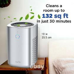 Air Purifiers for Home-20db Ultra-Silent H13 True HEPA Filter for Bedroom Office