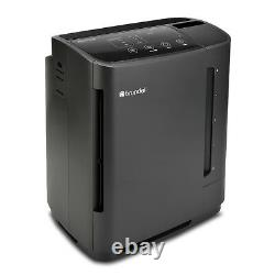 Brondell O2+ Revive All Room HEPA Air Purifier Evaporative Humidifier Black New
