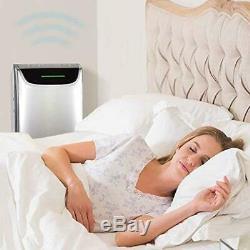 Dreval D-950 Air Purifier and Humidifier- True HEPA Filter, UV Light, Negative I