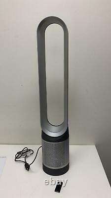 Dyson AM11 Pure Cool Tower Purifier Fan, Silver/Black