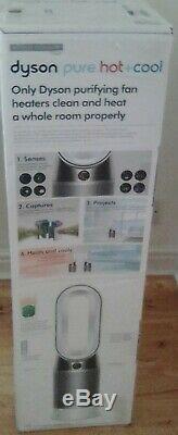 Dyson HP04 Pure Hot+Cool Air Purifier, Heater/Fan-HEPA Air Filter, Space Heater