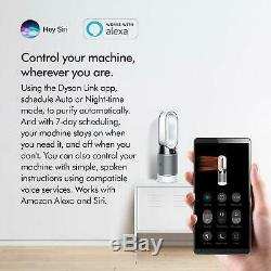 Dyson HP04 Pure Hot +Cool Air Purifier, Heater/Fan-HEPA Air Filter, Space Heater