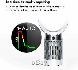 Dyson Pure Cool, DP04-HEPA Air Purifier and Fan WiFi-Enabled, White/Silver