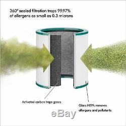 Dyson Pure Cool Me HEPA Air Purifier and Fan, 10-Speed, 290 Sq. Ft. (BP01)