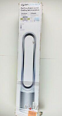 Dyson Pure Cool TP01 HEPA Air Purifier & Fan Large Rooms White/Silver