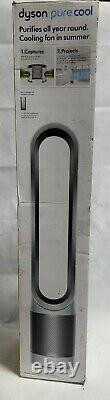 Dyson Pure Cool, TP01 HEPA Air Purifier & Fan, White/Silver
