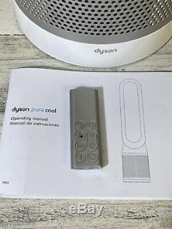 Dyson Pure Cool, TP04 HEPA Air Purifier and Tower Fan, White/Silver Pre Owned