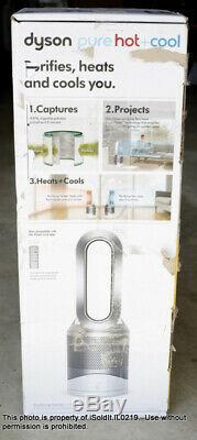 Dyson Pure Hot + Cool, HP01 HEPA Air Purifier, Space Heater & Fan