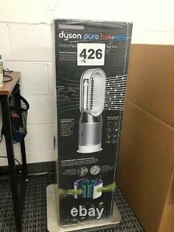 Dyson Pure Hot + Cool HP04 HEPA Air Purifier Heater Fan Silver 244314-01 NEW