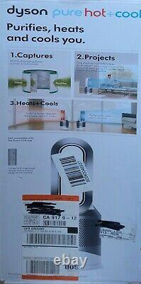 Dyson Pure Hot+Cool Link Air Purifier Heater & Fan Silver