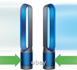 Dyson TP01 Pure Cool Tower 800 Sq. Ft. HEPA Air Purifier and Fan Iron/Blue