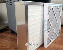 Enviroklenz UV-C Air Purifier, Black, Air filter, HVAC and HEPA filters