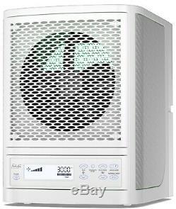 Fresh Air White Purifier Alpine Living Air Ecoquest Vollara Ozone Hepa Ionizer