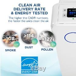 GermGuardian AC5350W Elite 4-in-1 Air Purifier System with HEPA Filter