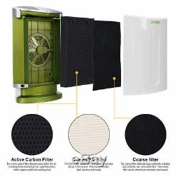 GoGreen Air Purifier HEPA Carbon Filter Fan Smoke Pollen Allergy Dust Eliminator