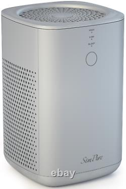 H13 True HEPA Air Purifier for Large Room 1500 sq. Ft for Allergies Smoke 24dB