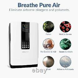 Hathaspace Smart True HEPA Air Purifier, 5-in-1 Large Room Air Cleaner & Deod