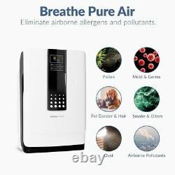 Hathaspace Smart True HEPA Air Purifier, 5-in-1 Large Room Air Cleaner & Deodori