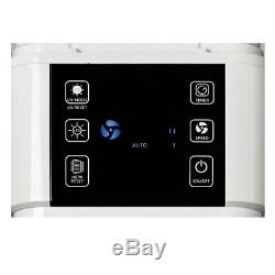 Heller HAP120 Air Purifier Tower HEPA/Odour Filter/3 Speed/Timer/Digital Display