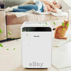 Hepa Filter Air Purifier Large Room Fresh Air Cleaner Car Home Office & Bedroom