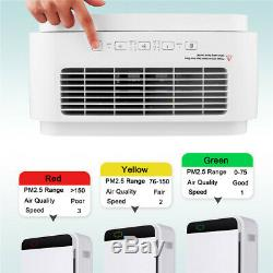 Hepa Filter Air Purifier Large Room Fresh Air Cleaner For Home Office Room