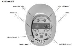 HoMedics AR-29A-GB Professional HEPA Tower Air Cleaner Purifier Oscillating