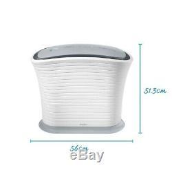 HoMedics TotalClean True HEPA Air Purifier Fan for Small Room