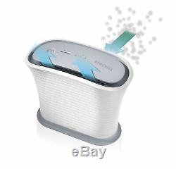 HoMedics TotalClean True HEPA Air Purifier Fan for Small Room, Keep Air Fresh