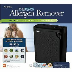 Holmes Large Room True HEPA Purifier withQuiet Operation (Certified Refurbished)