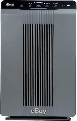 Home Air Purifier With True HEPA Plasma Wave Odor Reducing Carbon Smart Sensor