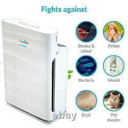 Home Air Purifiers True HEPA Air Purifier for Allergies Indoor Air Cleaner Quiet